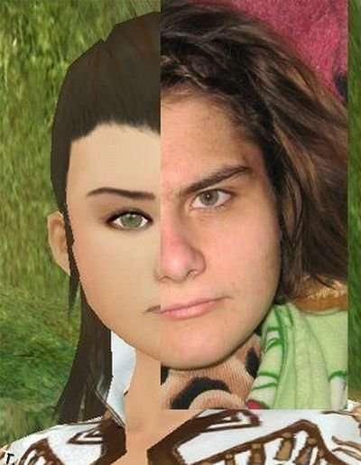 Люди и их персонажи в онлайн игре (39 фото)