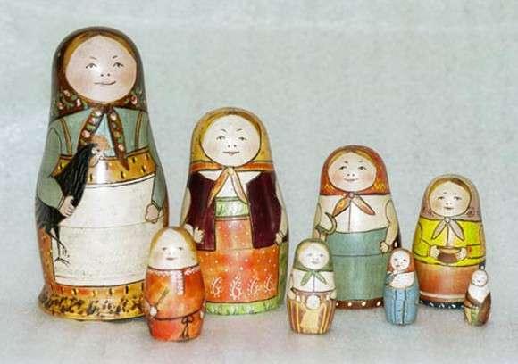 История русской национальной игрушки (5 фото)