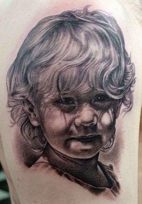 Невероятно реалистичные татуировки детей (32 фото)