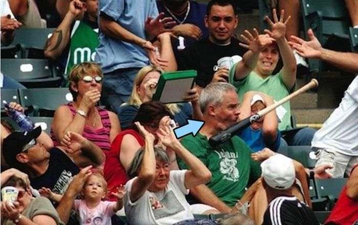 Курьезные фото из мира спорта (64 фото)
