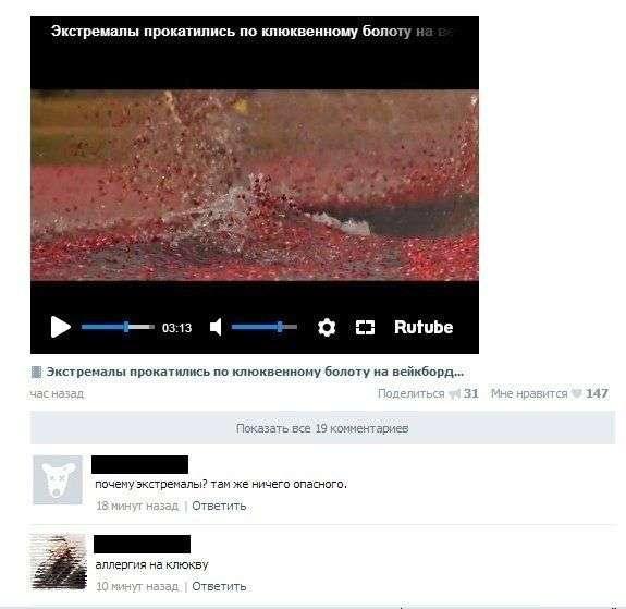 Смешные комментарии из социальных сетей (28 фото)