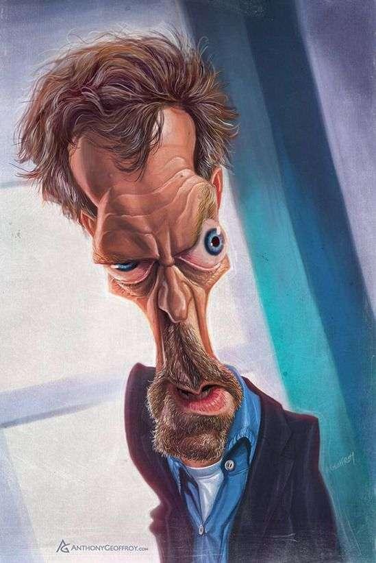 Прикольные карикатуры на знаменитостей (41 фото)