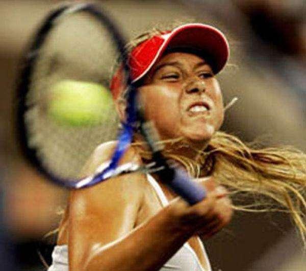 Самые смешные лица тенниса (20 фото)