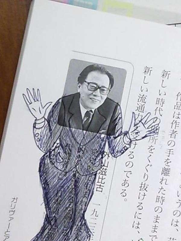 Рисунки в японских учебниках (30 фото)