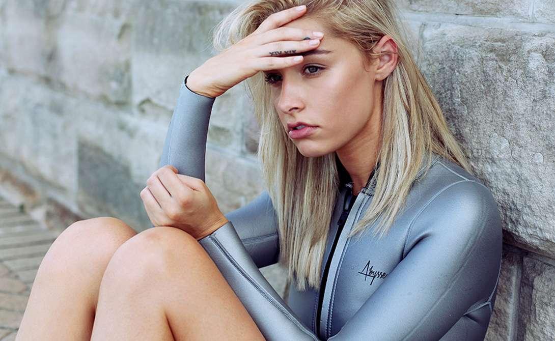 Лорен Энгель: модель снимает модель Девушки