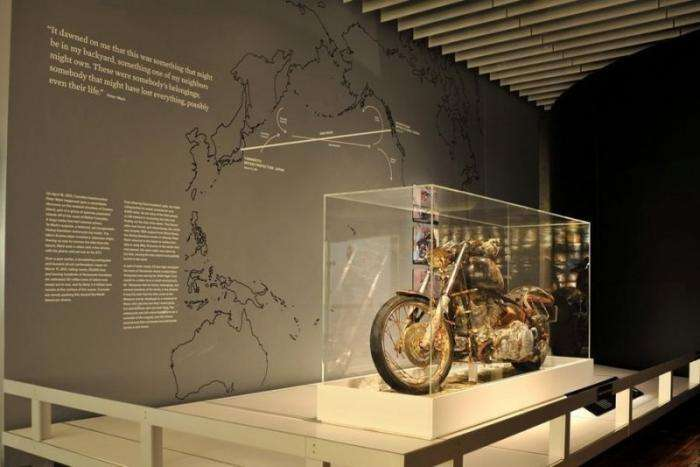 Harley-Davidson, который самостоятельно пересёк Тихий океан Авто и мото