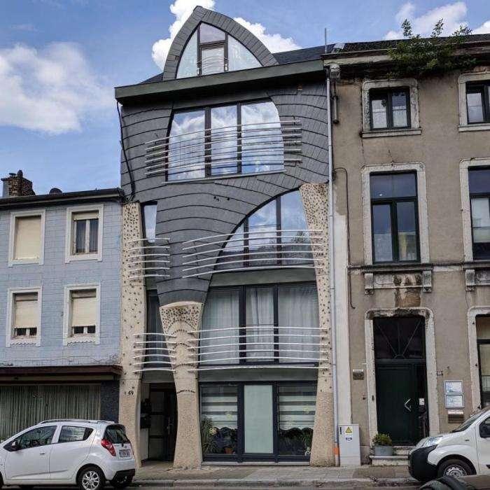Бельгия удивляет множеством причудливых домов Интересное