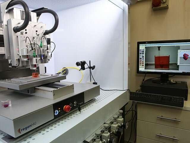 Израильские ученые первыми в мире с помощью 3D-принтера создали «живое» сердце !!! Наука