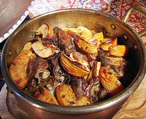 Как приготовить мясо с картошкой в казане: пошаговый рецепт Кулинария