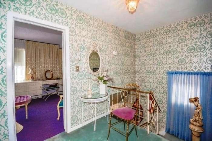 Неприметный снаружи дом, который надумала реализовать 96-летняя бабуля, внутри оказался настоящим дворцом Интересное
