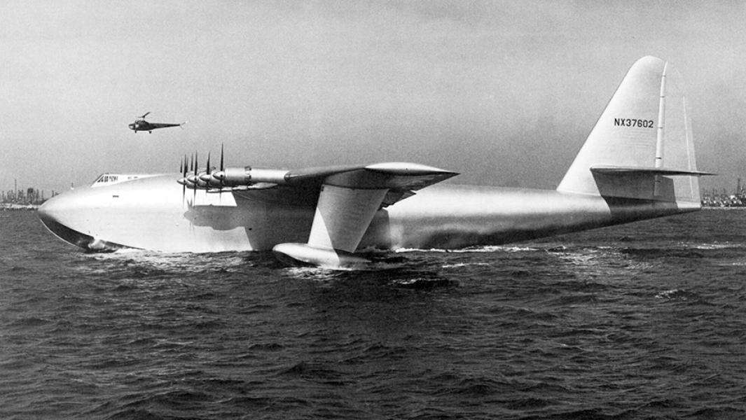 Белый слон: на что способен самолет с самым длинным крылом в мире Авиация