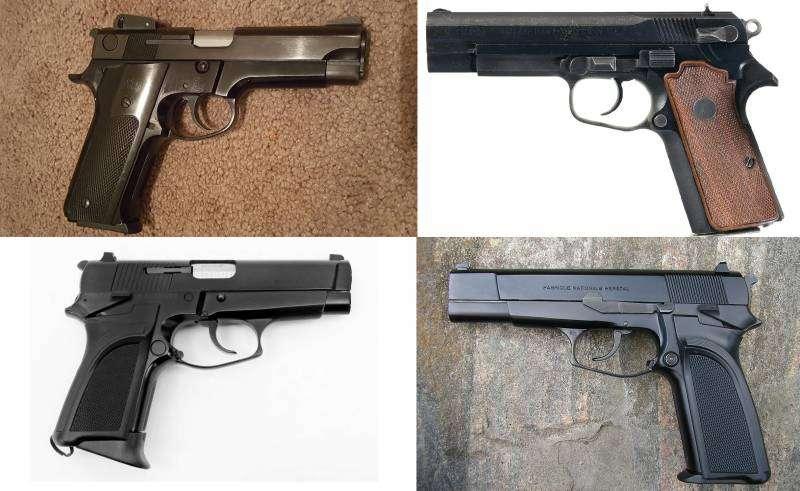 Армейский пистолет в США. Часть 1 оружие