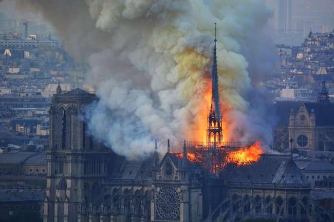 Пожар вНотр-Даме— катастрофа для Европы доказательства,загадки,история,спорные вопросы
