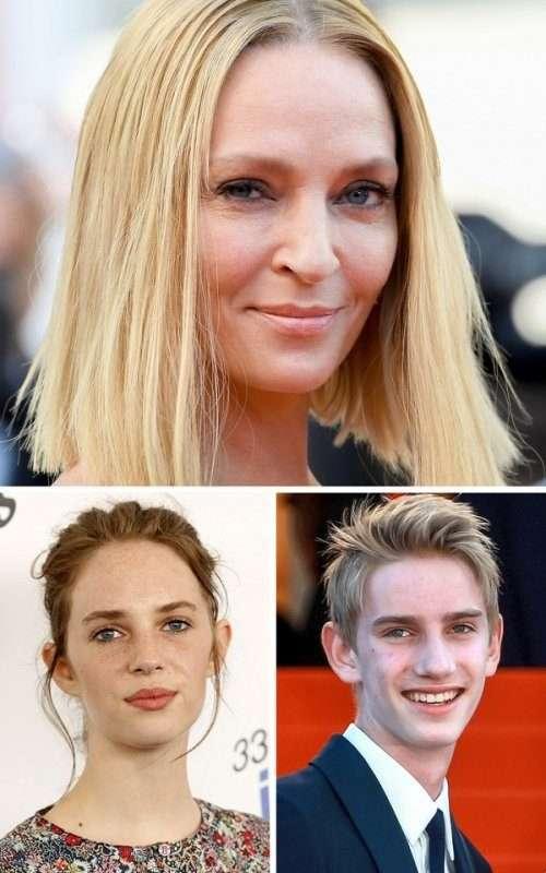 Дети знаменитостей с нестандартной внешностью