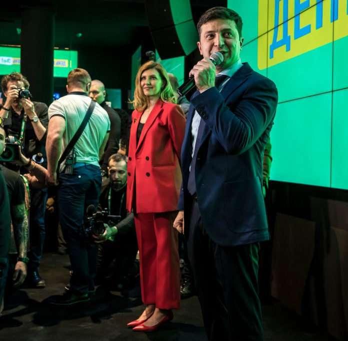 Леди Зе. Жена Владимира Зеленского имеет все шансы стать первой леди Украины? Женщины,интересное