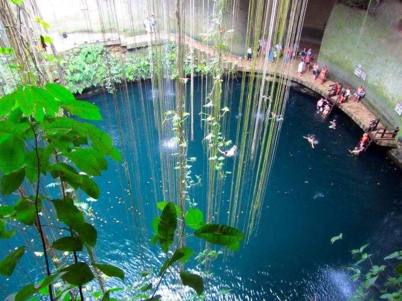 10 самых красивых природных бассейнов мира заграница,путешествие