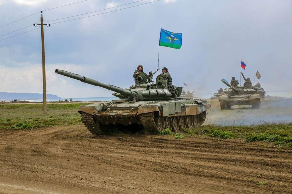 Огонь из всех орудий: кадры масштабных учений в Крыму военные учения,Крым,полигон Опук