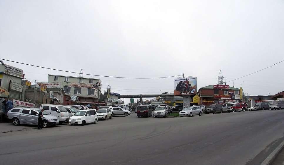 Самые крутые авторынки России: «Зеленый угол», Владивосток авто и мото,автомобили,Россия